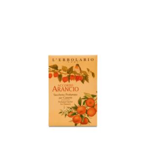 erbolario accordo arancio sacchetti profumati samifar shop