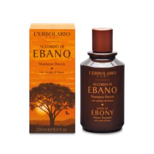erbolario accordo di ebano shampoo doccia