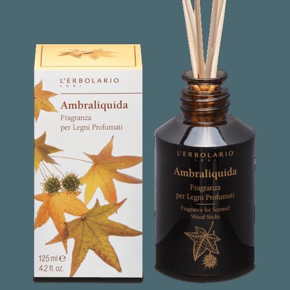 erbolario ambraliquida fragranza legni profumati