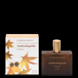 erbolario ambraliquida profumo 50 ml