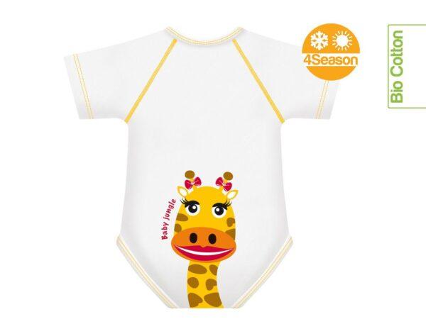 j bimby body cotone giraffa
