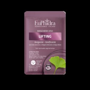 euphidra maschera viso tessuto lifting