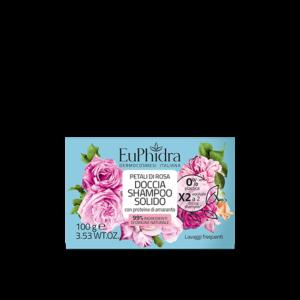 euphidra floreali doccia shampoo solido petali di rosa