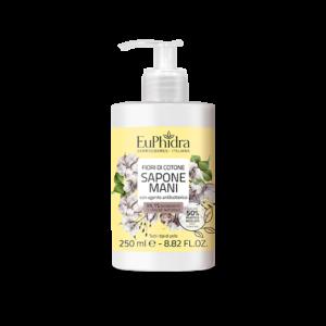 euphidra floreali sapone mani fiori di cotone