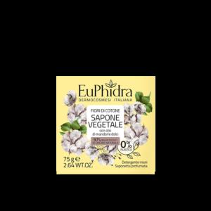 euphidra floreali sapone vegetale fiori di cotone
