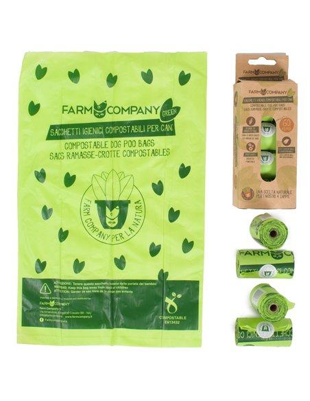 farm company sacchetti igienici compostabili